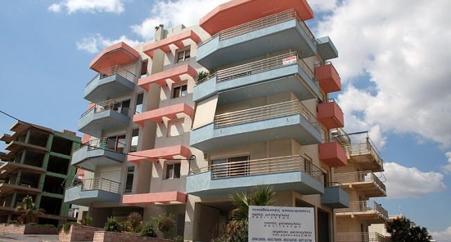 Πολυκατοικία στην οδό Κρήτης